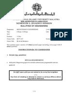 MCT 2337 Mid - Semester Examination - Sem 2 - 2014-15 Ver1