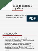 Atribuições Do Psicólogo Jurídico