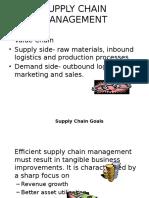 Supply Chain Management Ravi