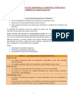 TEMA 3 - El Estudio Del Desarrollo - Métodos, Técnicas y Diseños de Investigación