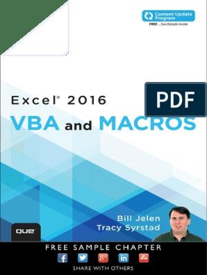 VBA | Visual Basic For Applications | Microsoft Excel