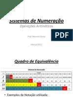 Sistemas de Numeração 2