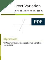 2-2 directvariation