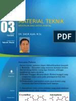 Modul 3 Material Teknik