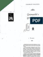 "Fernand Braudel ""Gramatika e Qyteterimeve"""