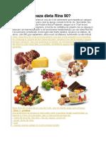 CUm Functioneaza Dieta Rina 90
