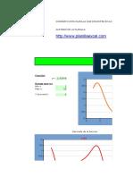 Planilla de Excel Para El Calculo de Integral y Derivada