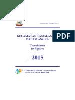 Kecamatan Tamalanrea Dalam Angka 2015