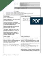 unit assessment plan maegan bishop
