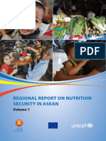 Regional Report on Nutrition Security in ASEAN Volume 1