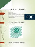 I.iii. Estructura de Los Materiales. Estructura Cristalina