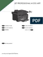 Manual instalacion Laserjet M1212