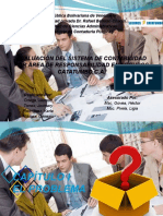 evaluacion del sistema de responsabilidad por area de responsabilidad