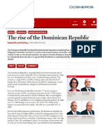 The Banker. The rise of the Dominican Republic.
