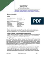 UT Dallas Syllabus for aim6202.0gm.10u taught by Surya Janakiraman (suryaj)