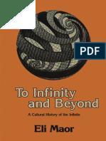 [Eli Maor] to Infinity and Beyond