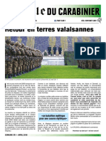 Gazette du Carabinier - CR1 Avril 2016