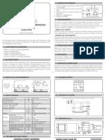 Monitor de Corrente Monofasico Manual de Instrucoes Ppi02 Rev.8
