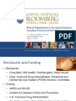 Role of Stakeholders in the Issue - Including Pharma and FDA
