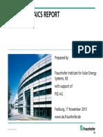 2015 11 17 Photovoltaics Report