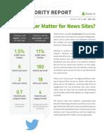 Twitter solo genera el 1,5% del tráfico a medios