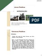 1 - Estruturas Metálicas -E Introdução