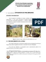 6.- Estudios Topograficos Preliminares