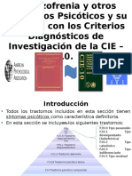 DSM IV CIE 10 Psicosis