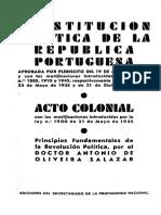 Constitucion Portuguesa