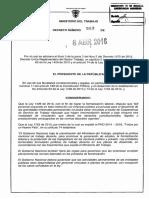 Decreto 0583 04 08 2016 Mintrabajo Tercerización Laboral