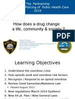 New Police Strategies to Combat Addiction