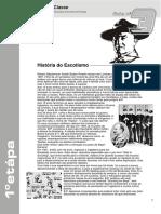 Ficha 3 - Historia Escotismo, Nó de Correr e de Escota