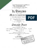 The Violin and Its Mechanism Violin Method Julien Piot 2