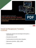 Jornadas Tecnicas Peru Ltb INTERRUPTORES 2016