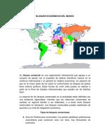 Bloques Economicos Del Mundo