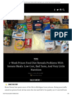1-Week Prison Food Diet Reveals Problems With Inmate Meals_ Low Cost, Bad Taste, And Very Little Nutrition