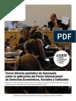 Examen del Estado Venezolano ante el Comité de DESC
