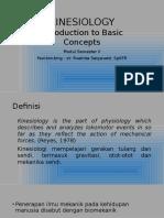 Introduction Kinesiology APR