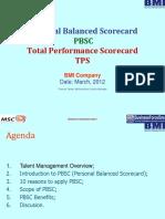 Personal Balanced Scorecard App v2