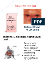 Vestibulitis Nasal