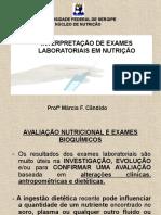 AULA+EXAMES+BIOQUÍMICOS+AULA+1