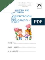 CARPETA DE TUTORIA DE PRIMARIA - .docx