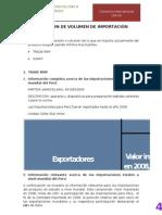 DIMENSIONAMIENTO DE IMPORTACION
