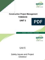 CPM--Unit 5