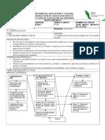 Planeacion Cienciasi -Bloque IV