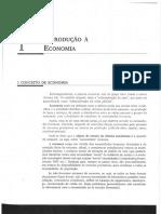 Capítulo 1 - Vasconcellos - Economia Micro e Macro 4ª Edição