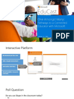 one amongst many - pathways to a connected educator with microsoft