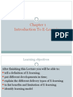 Ch-1 Introduction to E-learning(2)
