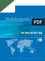 """""""Perspectivas económicas mundiales"""" del Fondo Monetario Internacional"""