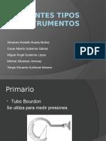 Diferentes Tipos de Instrumentos